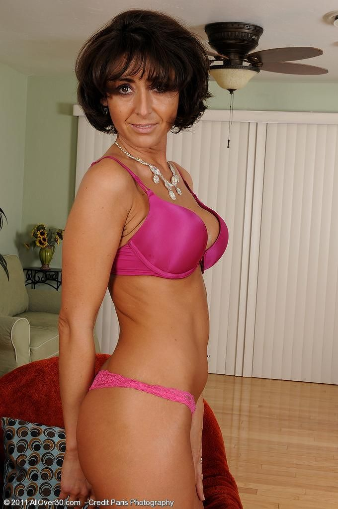 Hot tanlined milf takes it all 3