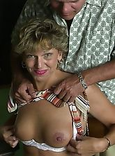 Xxx granny gets cheeky with cock